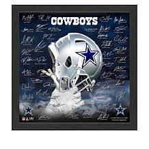 Officially Licensed NFL 2019 Signature Helmet Frame
