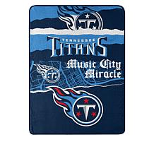 """Officially Licensed NFL 66"""" x 90"""" Ripped Raschel Throw"""