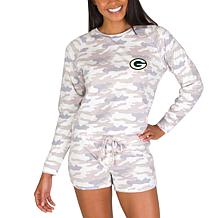 Officially Licensed NFL Concepts Sport Encounter Short Set - Packers