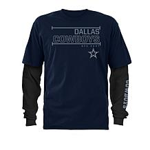 Officially Licensed NFL Dallas Cowboys 3-in-1 T-Shirt Combo