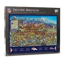 Officially Licensed NFL Joe Journeyman Jigsaw Puzzle