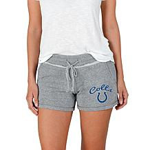Officially Licensed NFL Mainstream Ladies Knit Shorts - Colts