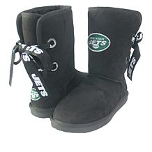 Officially Licensed NFL Women's Bling Boot  by Love Cuce