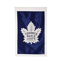 Officially Licensed NHL Applique House Flag - Toronto Maple Leafs