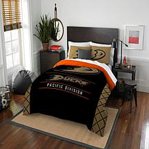 Officially Licensed NHL Draft Full/Queen Comforter Set - Ducks