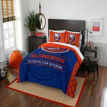 Officially Licensed NHL Draft Full/Queen Comforter Set - Islanders