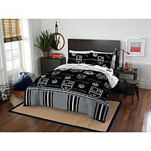 Officially Licensed NHL Queen Bed in a Bag Set - Los Angeles Kings