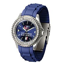Officially Licensed NHL Sparkle Series Watch - Columbus Blue Jackets