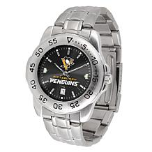 Officially Licensed NHL Sport Steel Series Watch - Pittsburgh Penguins