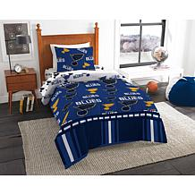 Officially Licensed NHL Twin Bed In a Bag Set - St Louis Blues