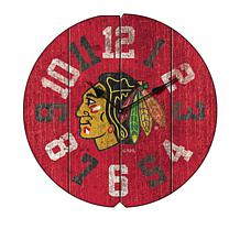Officially Licensed NHL Vintage Round Clock