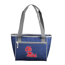 Ole Miss Crosshatch 16-Can Cooler Tote