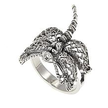 Ottoman Silver Jewelry Collection Dragonfly Filigree Ring
