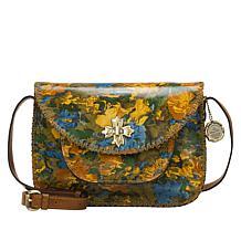 Patricia Nash Beaumont Leather Flap Crossbody Bag