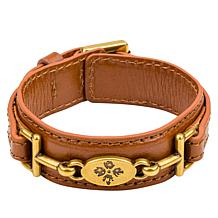 Patricia Nash Delphine Riding Bit Leather Bracelet