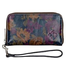 Patricia Nash Ragusa Leather Carryall Wallet with RFID Technology