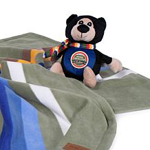 Pendleton National Park Pet Throw and Pal Stuffed Toy Set
