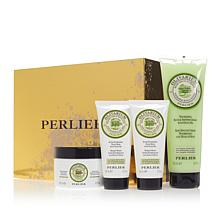 Perlier Olive Oil 4-piece Bath and Body Set with Box