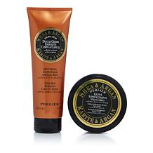 Perlier Shea & Argan 2-piece Bath & Body Set