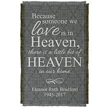 Personal Creations Personalized For Loved Ones In Heaven Throw