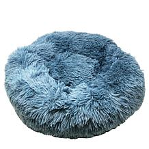 Pet Life Nestler High-Grade Plush and Soft Rounded Dog Bed