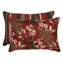 Pillow Perfect Set of 2 Rectangular Throw Pillows