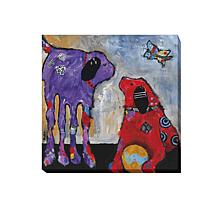 """Jenny Foster """"Play Day"""" Canvas Giclee Wall Art"""