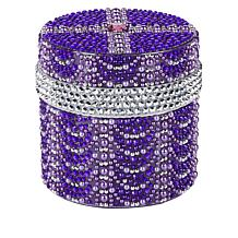 PRAI 3.4oz Ageless Throat & Decolletage Night Creme- Purple Ruffle Jar