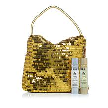 PRAI Gold & Platinum Holiday Duo with Golden Tote