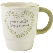 Precious Moments Always A Sister Forever A Friend Ceramic Mug