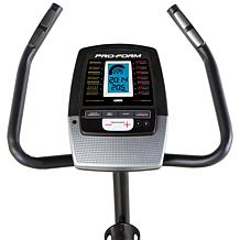 proform 135 csx exercise bike with 14 workout apps