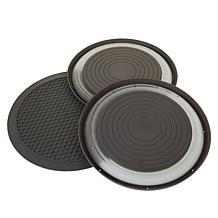 Progressive Prep Solutions 3-pc Microwave Food Cover & Multi Mat Set
