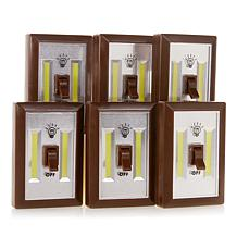 Promier COB LED Wireless Light Switch 6-pack