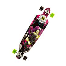 Punisher 40-inch Zombie Skateboard with Drop-Down Deck