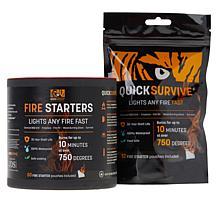 Quicksurvive Weatherproof Instant Fire Starters 62-pack
