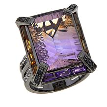 Rarities 10.25ctw Ametrine and Gem Ring