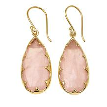 Rarities Pear-Shaped Gemstone Drop Earrings