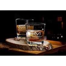 Realtree Whiskey Glass 4-Pack