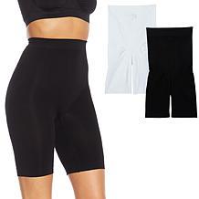 Rhonda Shear 2-pack Medium Support Longline Short