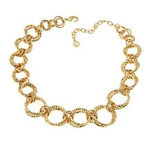 "R.J. Graziano ""Light the Way"" Circle Link 19"" Necklace"
