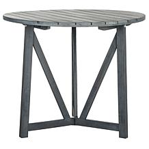 Safavieh Cloverdale Round Table - Ash Gray Finish