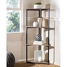 Safavieh Logan 4-Tier Corner Bookshelf