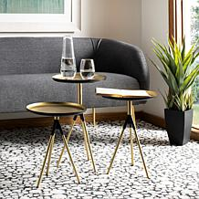 Safavieh Talon Metal Side Table - Set of 3