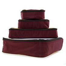 Samantha Brown Slim Line Packing Cubes 4-piece Set