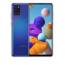 "Samsung Galaxy A21S 6.5""HD 64GB Unlocked GSM Smartphone w/Headphones"