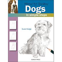 """Search Press Books """"How To Draw: Dogs"""" by Susie Hodge"""