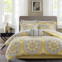 Serenity Queen 9pc Complete Bed and Sheet Set - Yellow