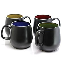 Soho Cafe 4-piece 20 oz. Mugs