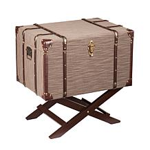 Southern Enterprises Carley File Cabinet Trunk Table