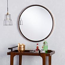 Southern Enterprises Holly & Martin Wais Round Wall Mirror